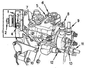 Perkins Fuel Injection Pump Diagram