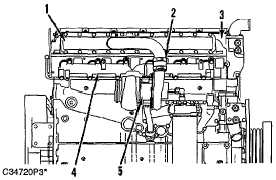 tm 5-3895-383-24 fuel shutoff solenoid wiring diagram air inlet and exhaust  system air system components (non-aftercooled engine shown) (1) inlet  manifold