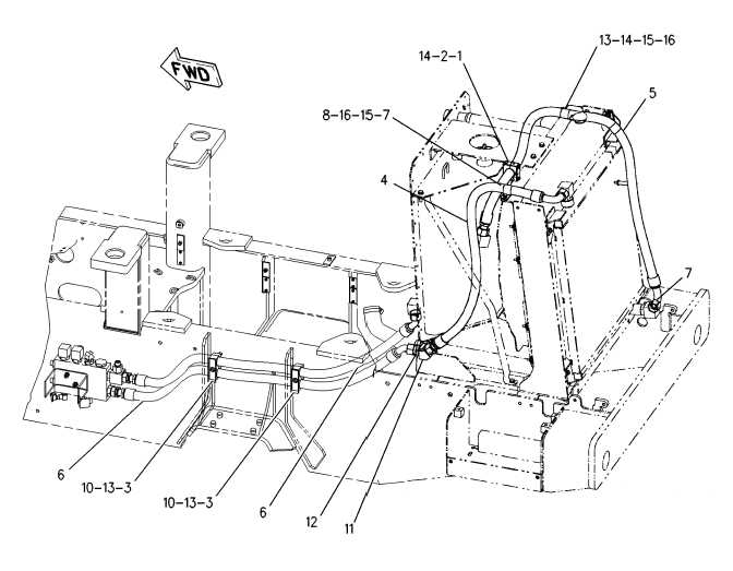Oil Coolers For Hydraulic Systems : Cooling system lines gp hydraulic oil cooler cont